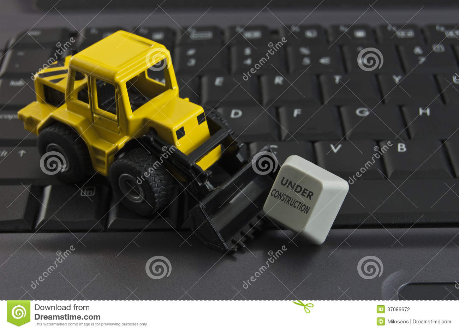 Download W budowie zdjęcie stock. Obraz złożonej z budowa, website - 37086672