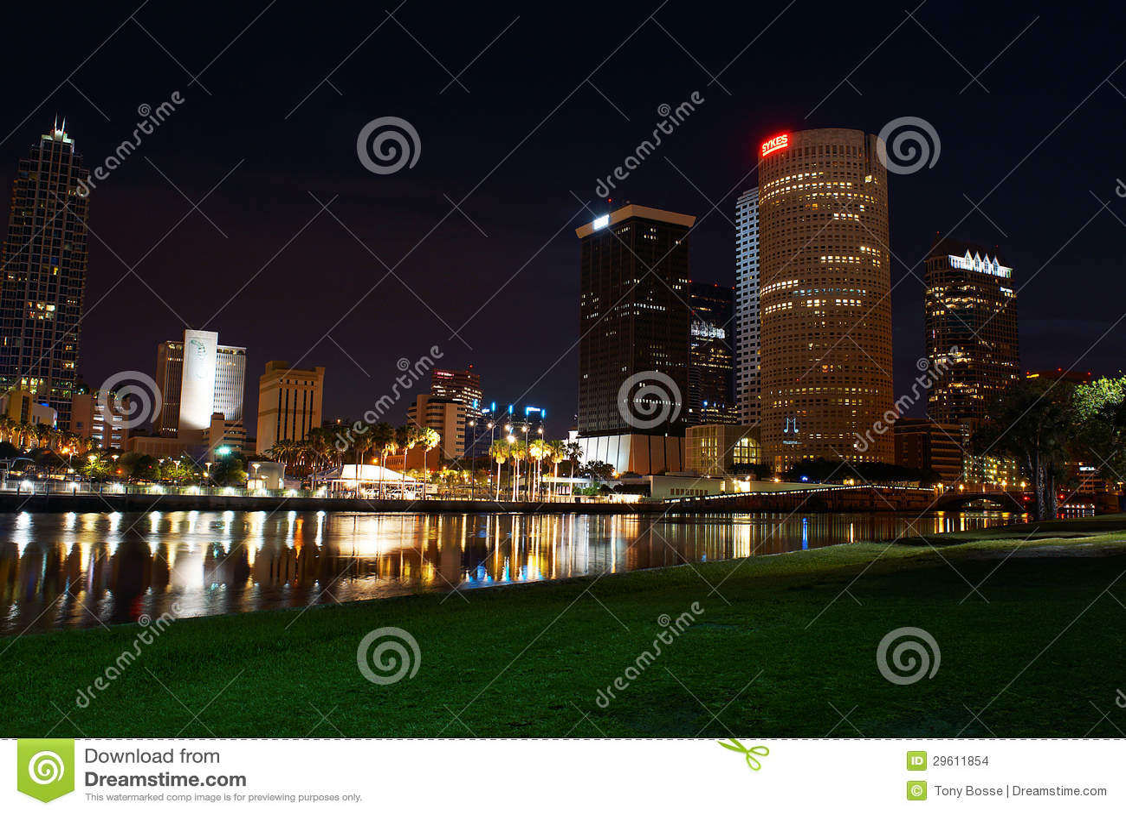 W centrum Tampa, Floryda