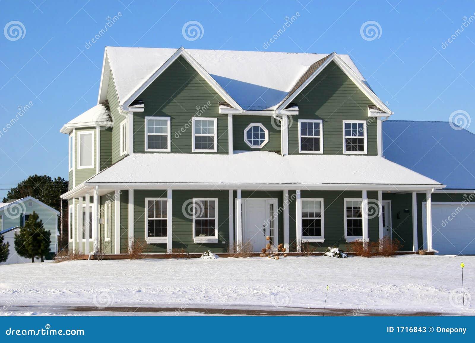 W domu 1 śnieg