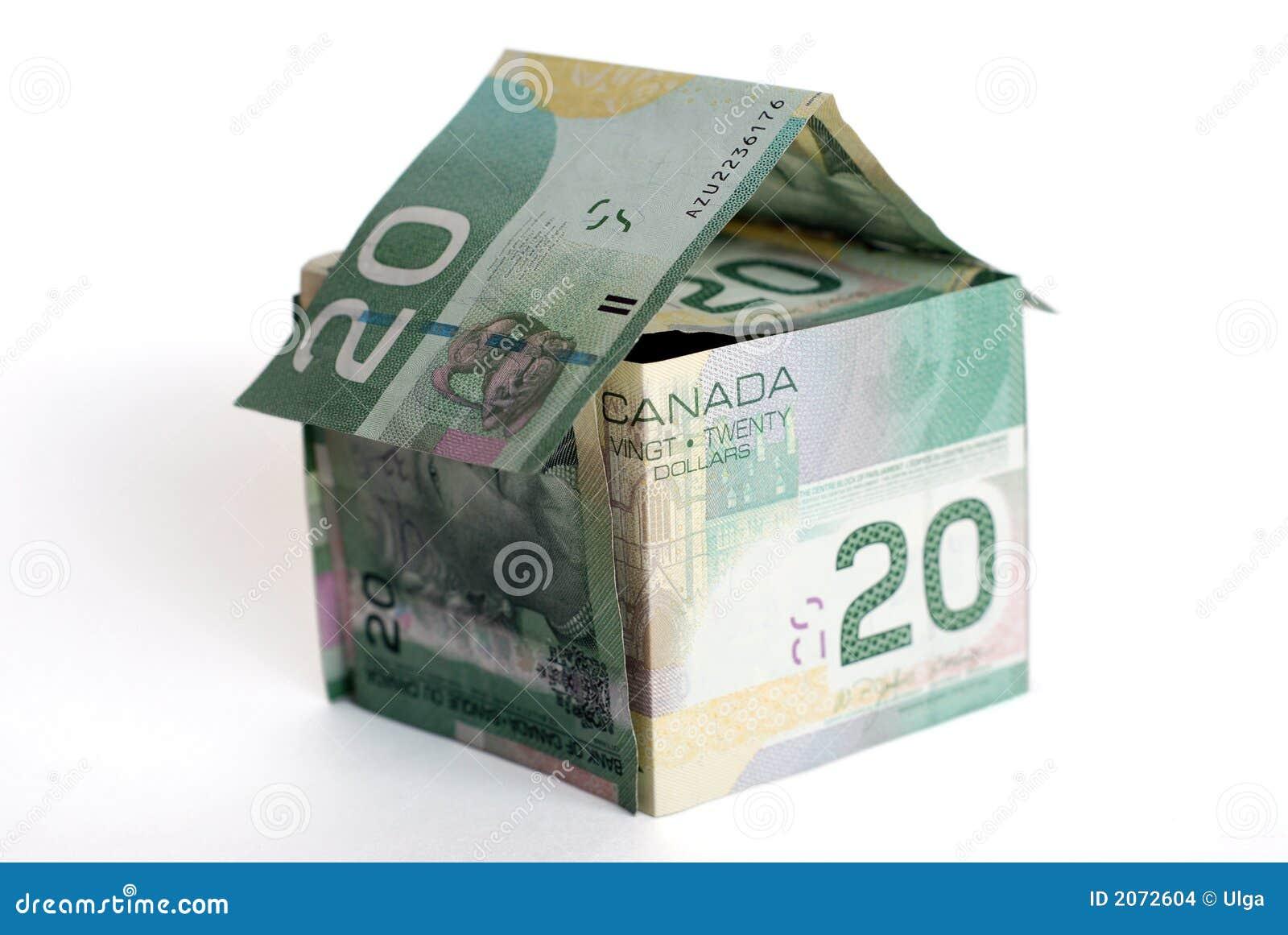 W domu kanadyjki pieniądze