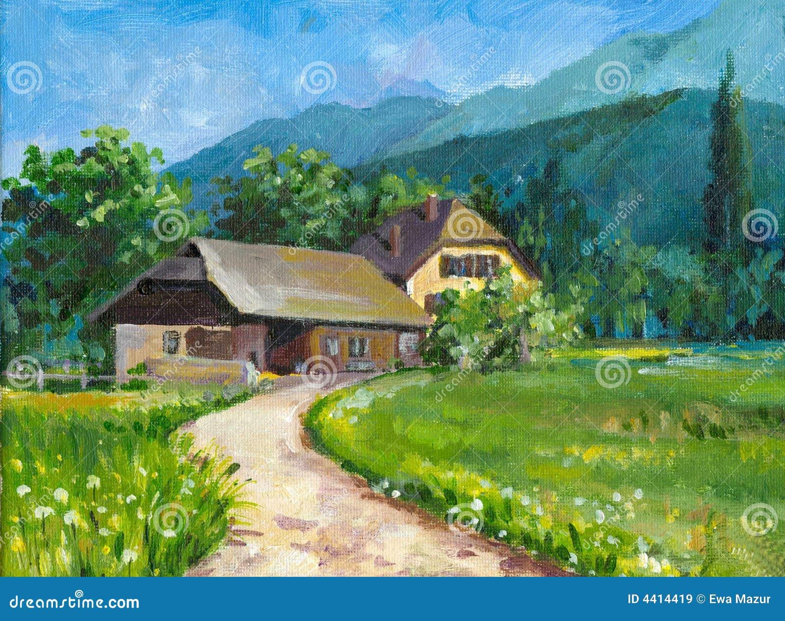 W domu krajobrazu