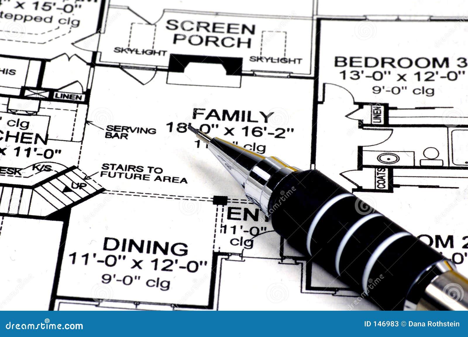 W domu ołówków plany