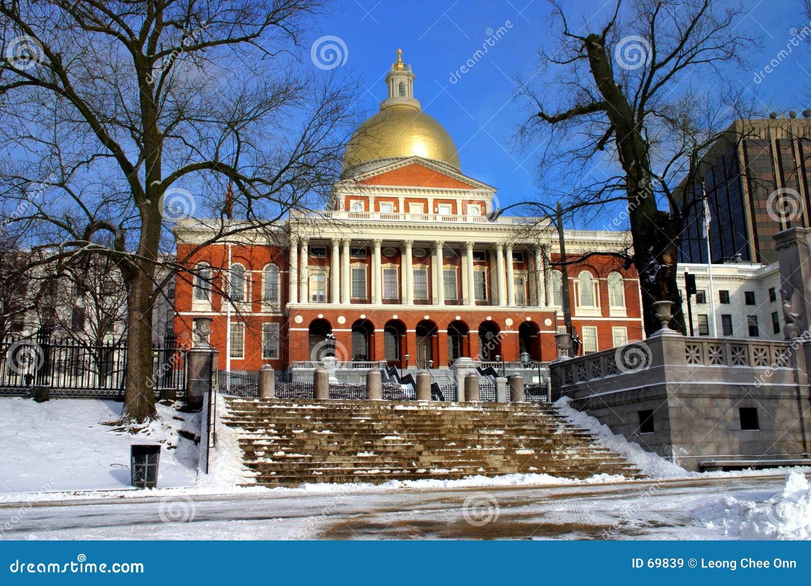 W domu stan Massachusetts