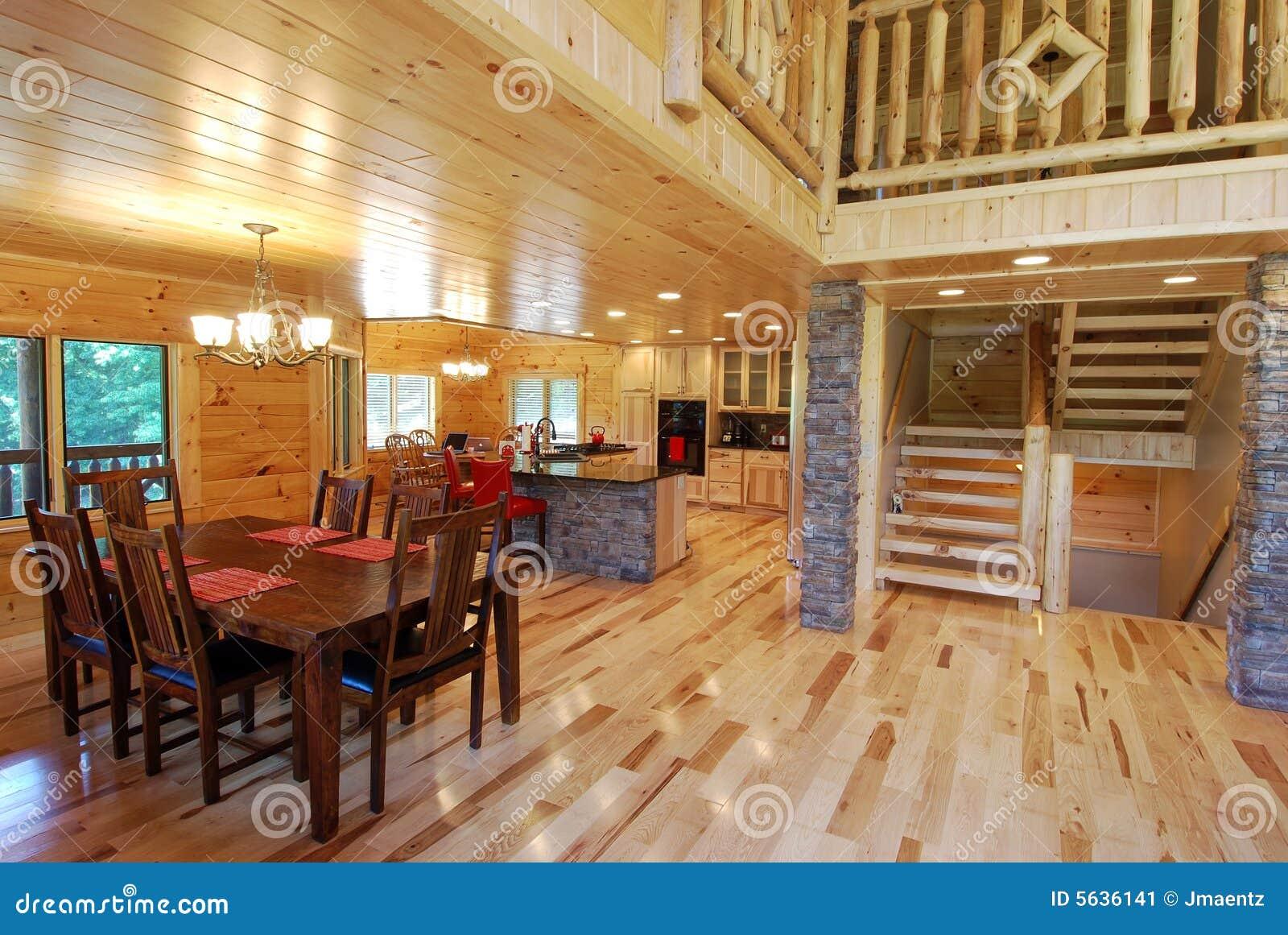 W domu wewnętrznego bela kuchenne widok