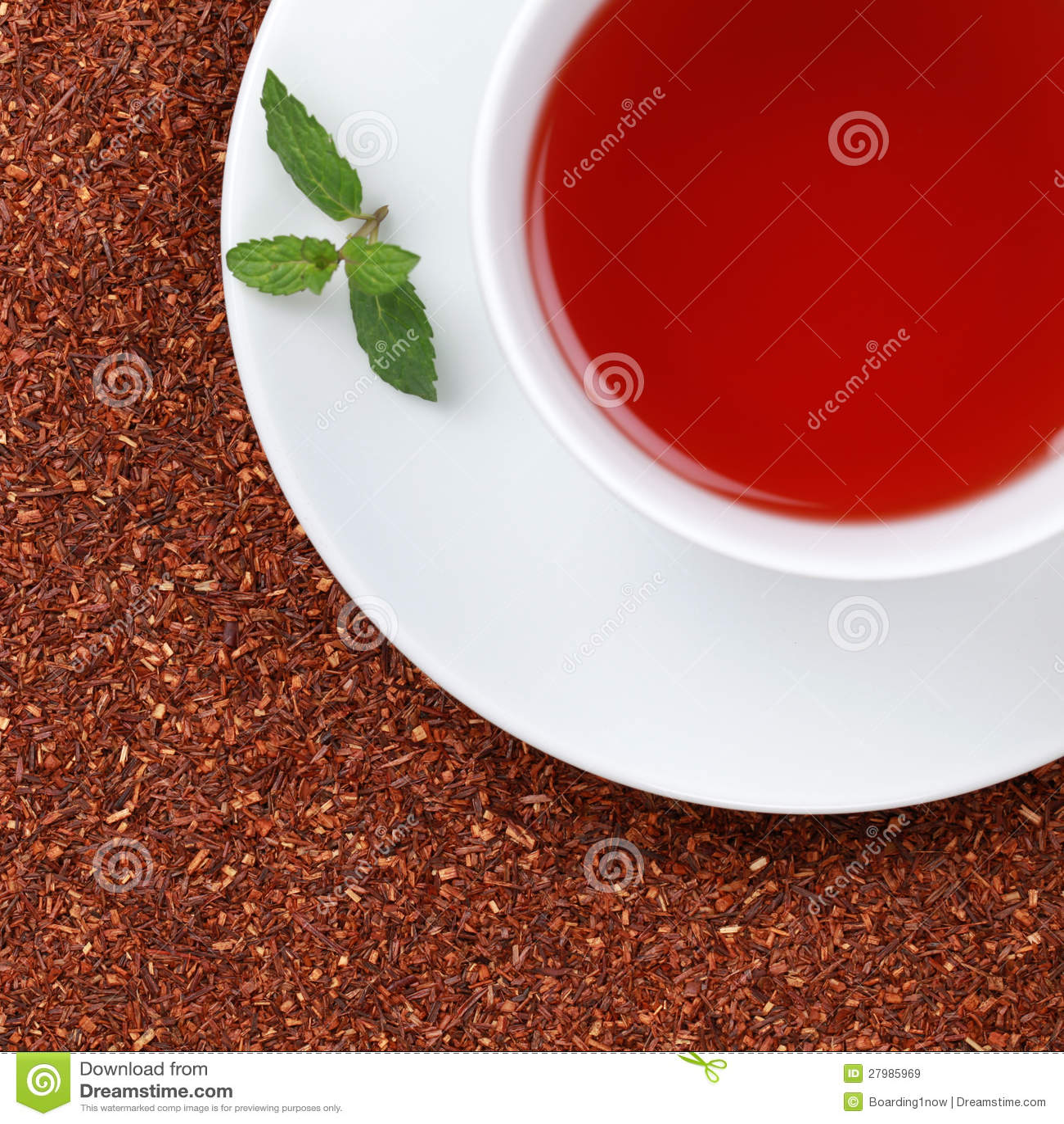 W filiżance Rooibos Herbata