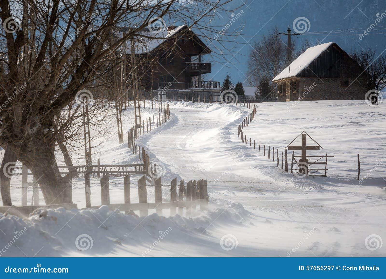 W górach wioska