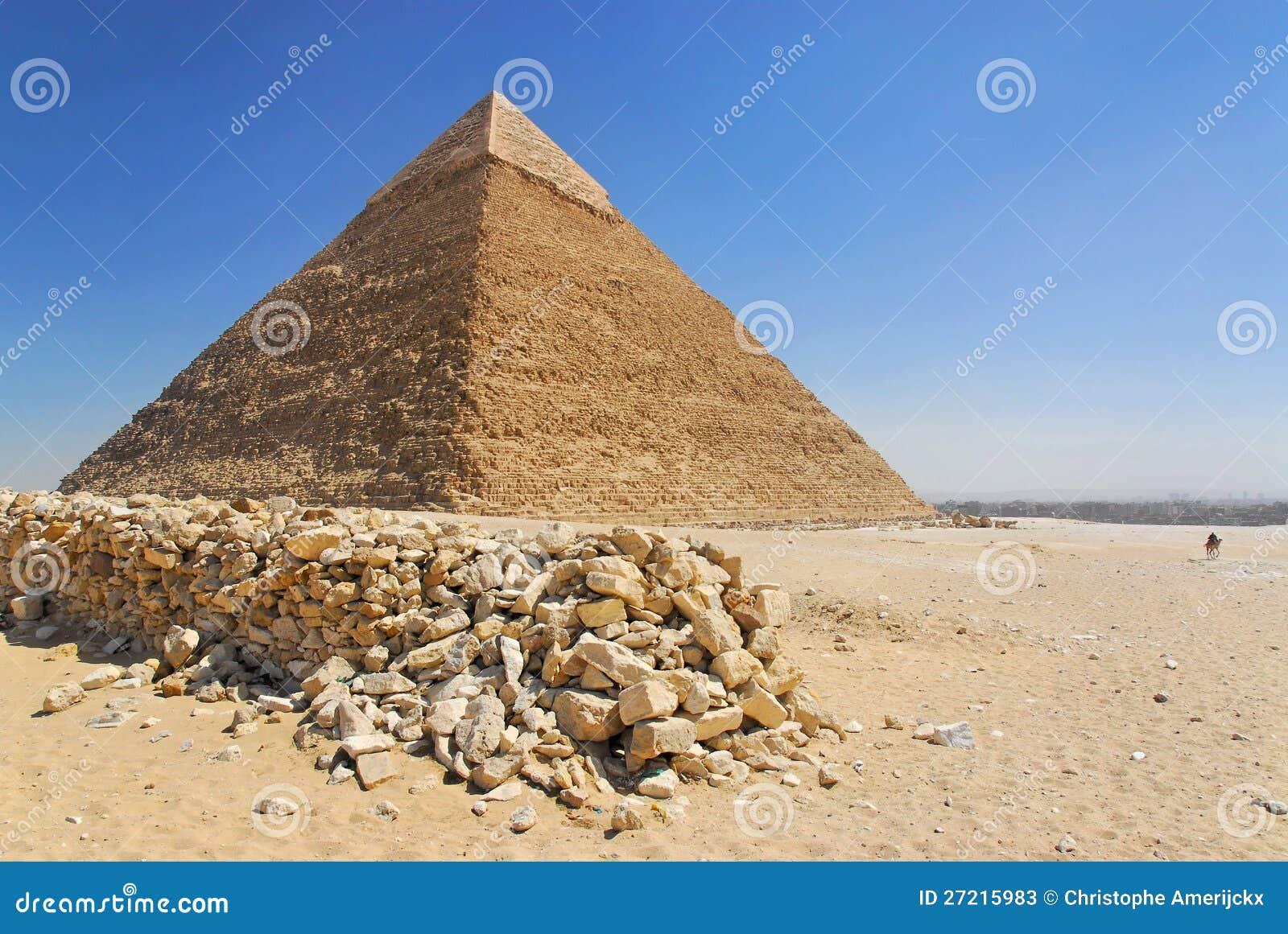 W Giza Cheops ostrosłup