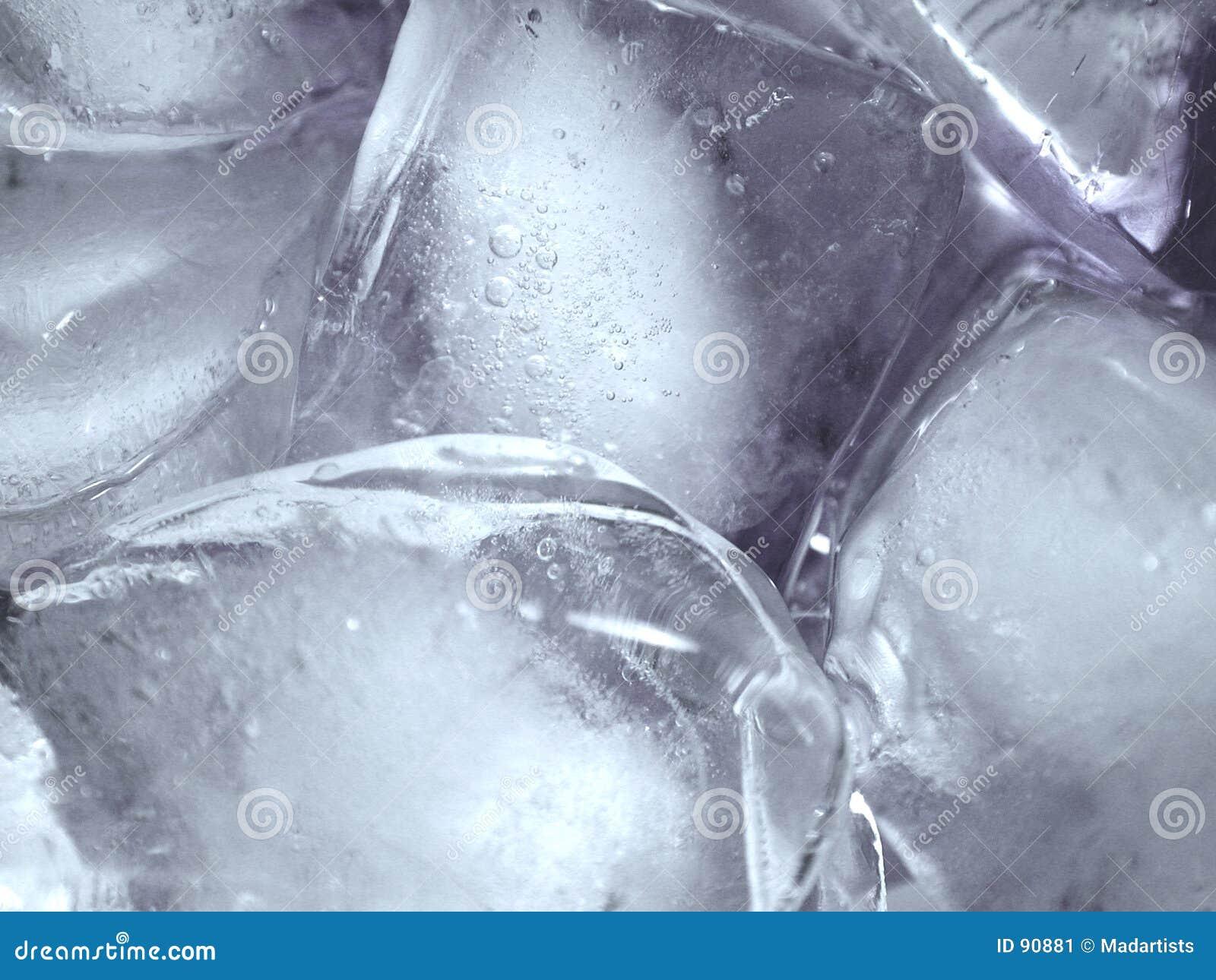 W icecubes topi strukturę