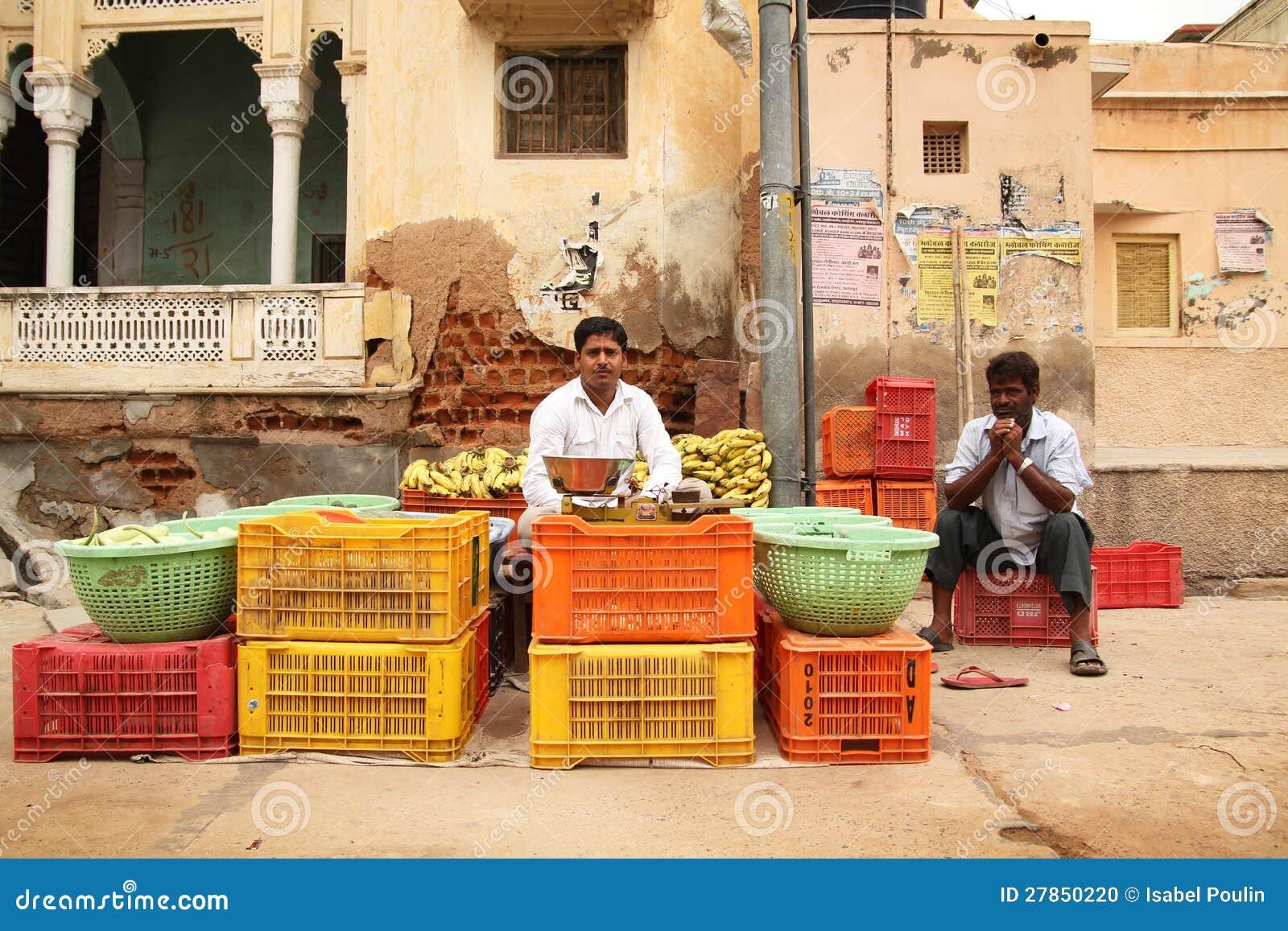 W India jarzynowy sprzedawca