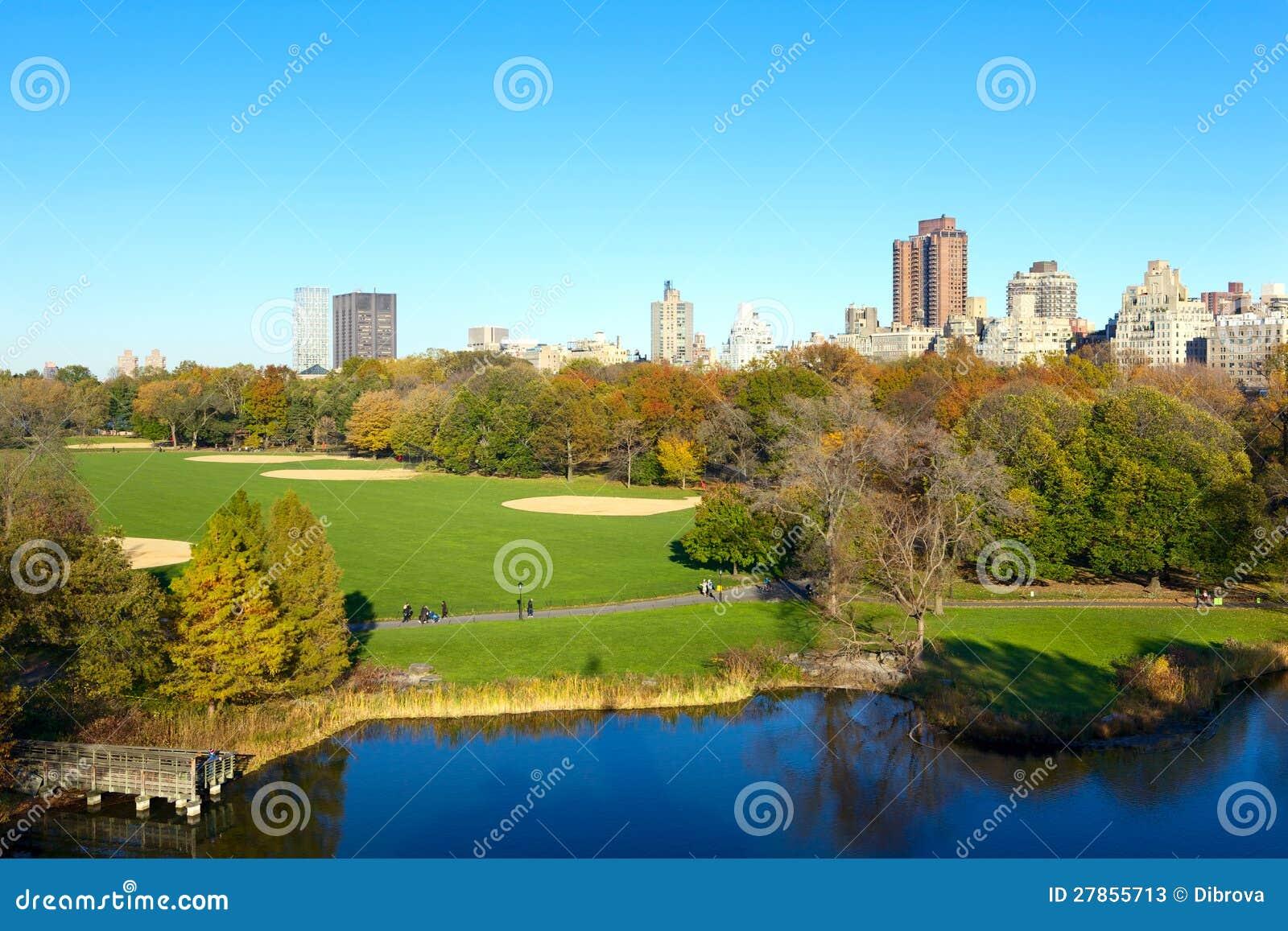 W jesień centrala Park