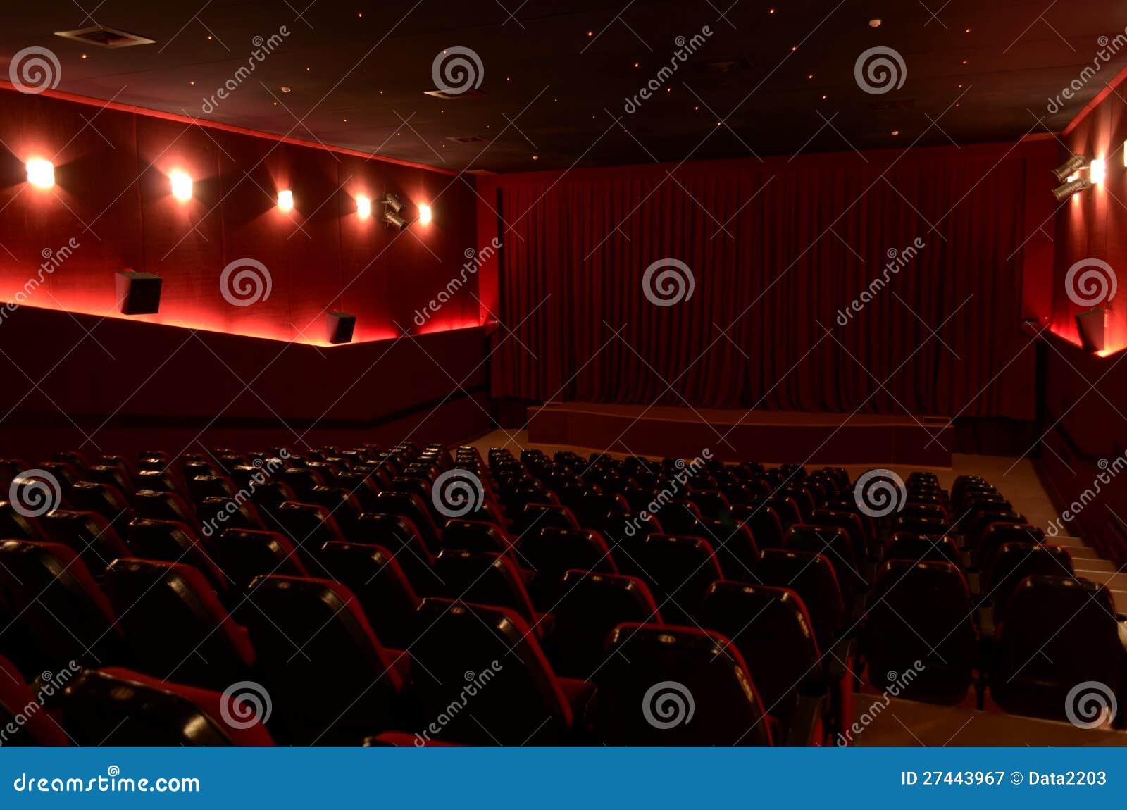 W kinowej sala