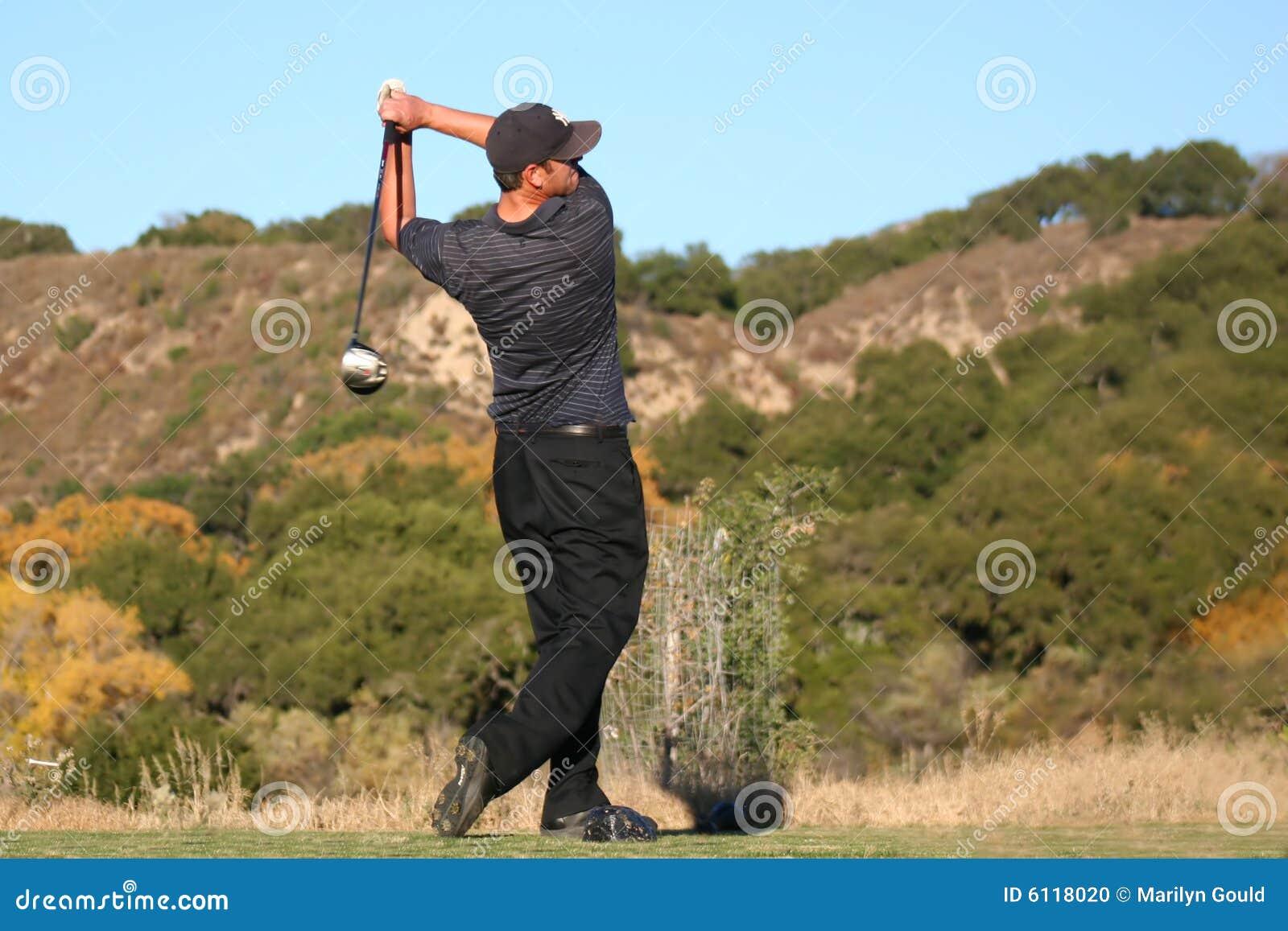 W końcu się w golfa