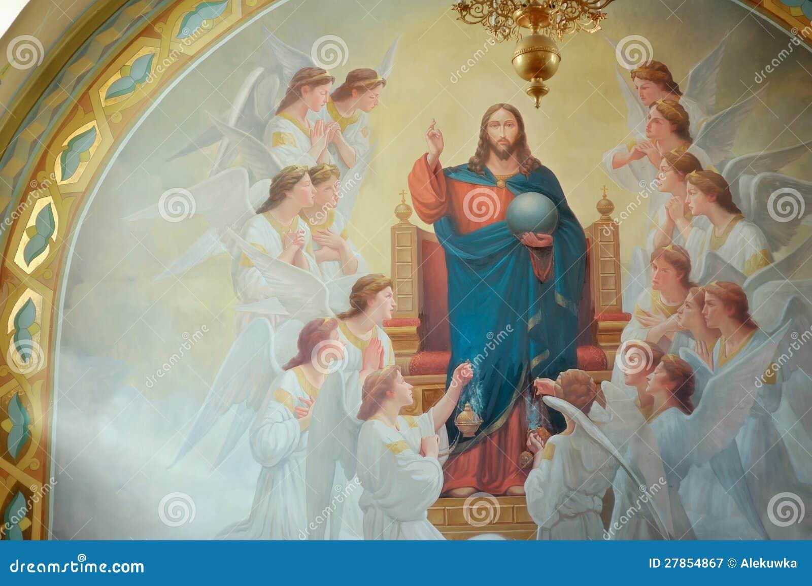 W kościół święci wizerunki