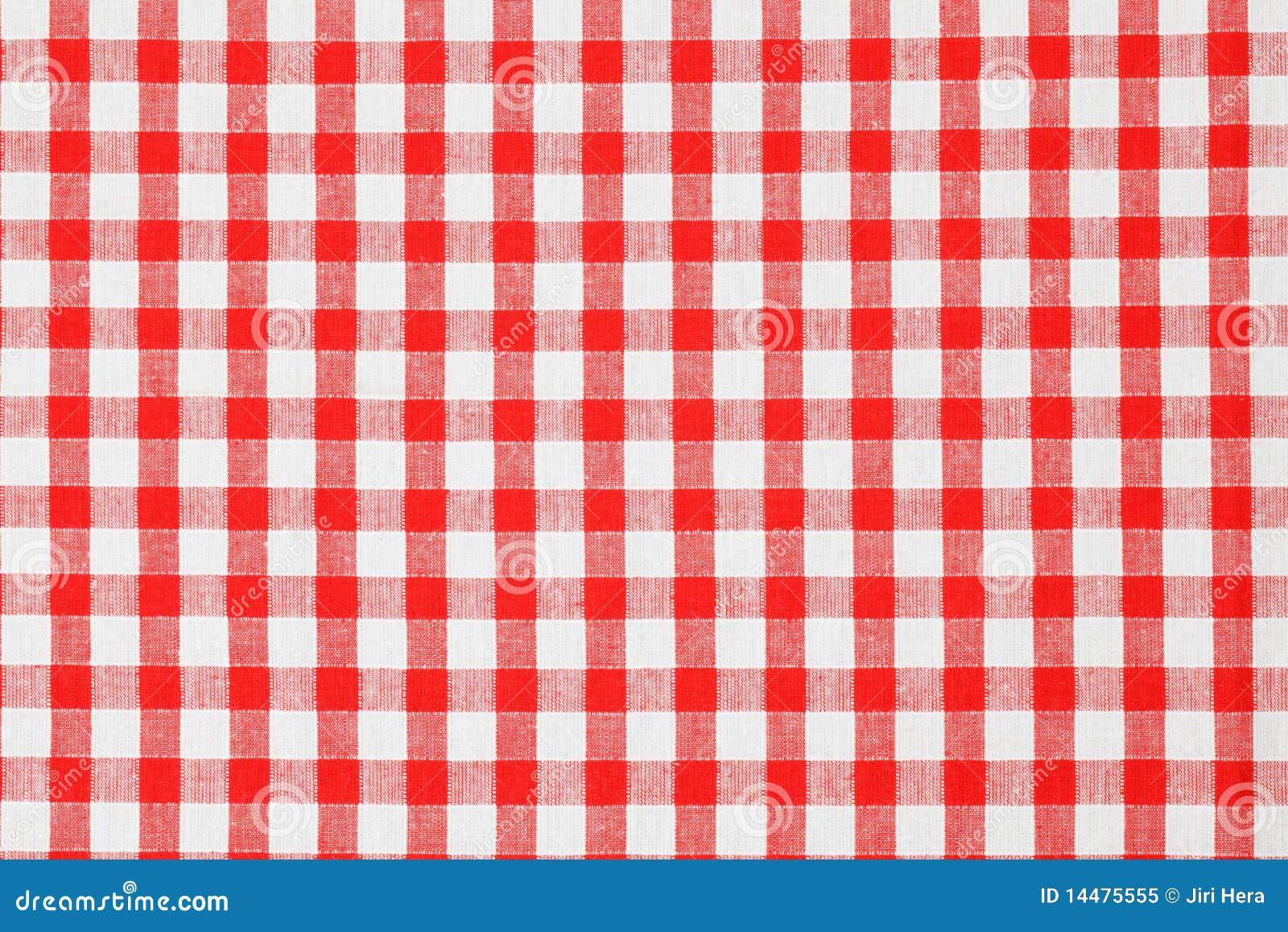 W kratkę tablecloth