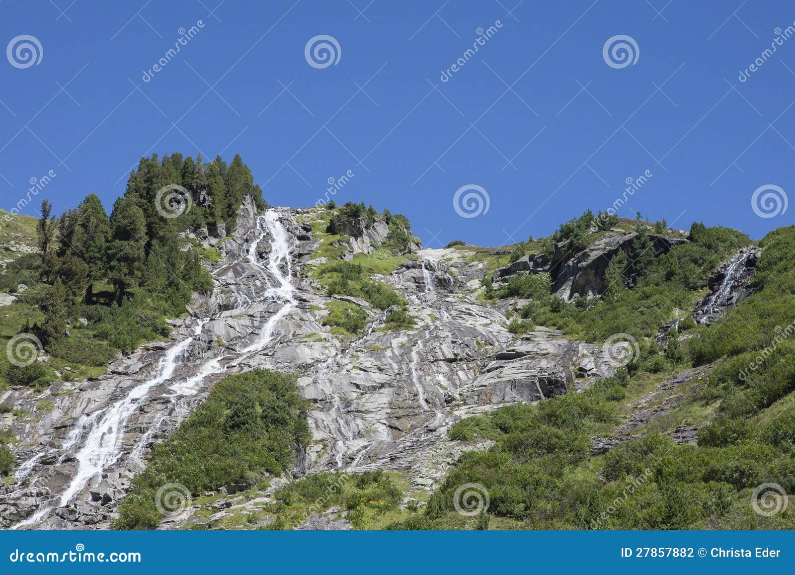 W Krimml Achental dolinie