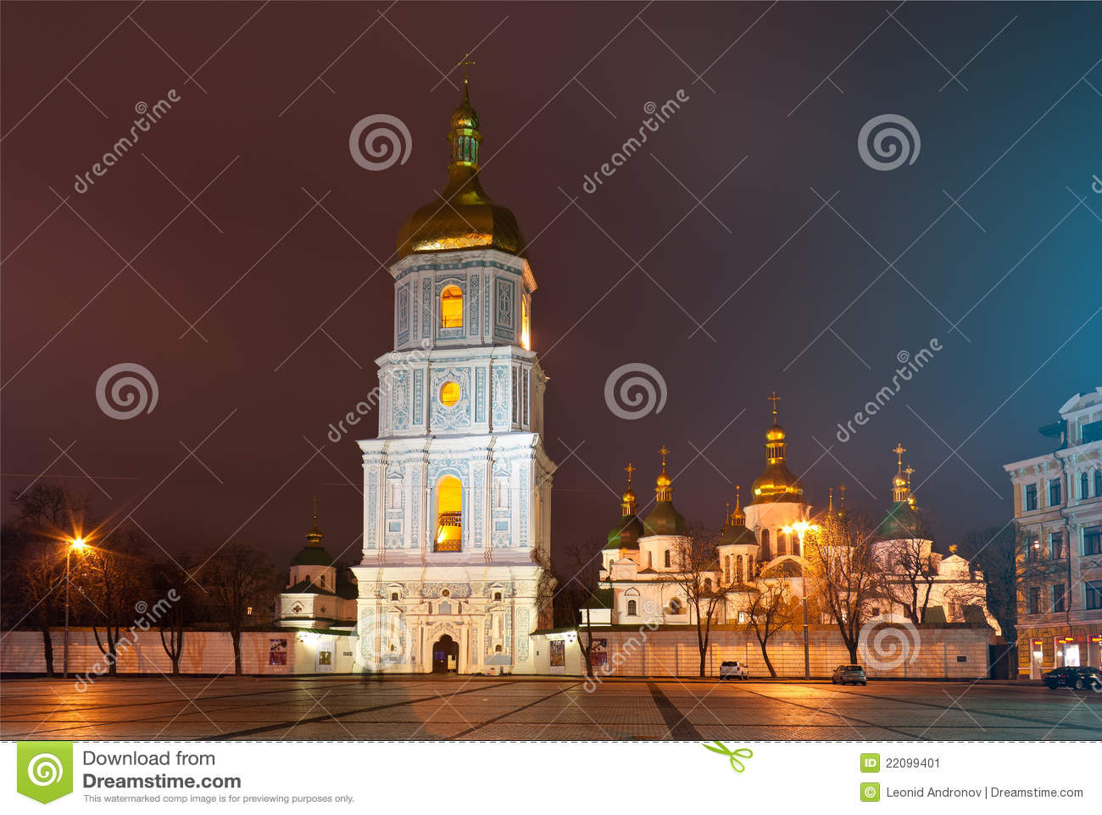 W Kyiv St. Katedra Sophia, Ukraina