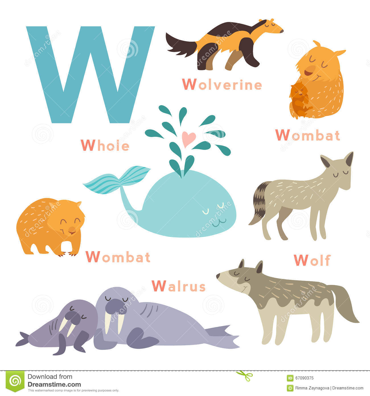 Name Animals With The Letter D