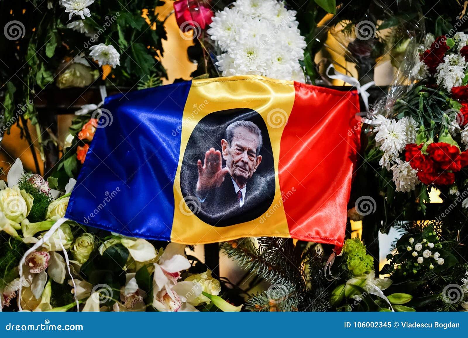 W memoriam śmierć królewiątko Mihai Rumunia