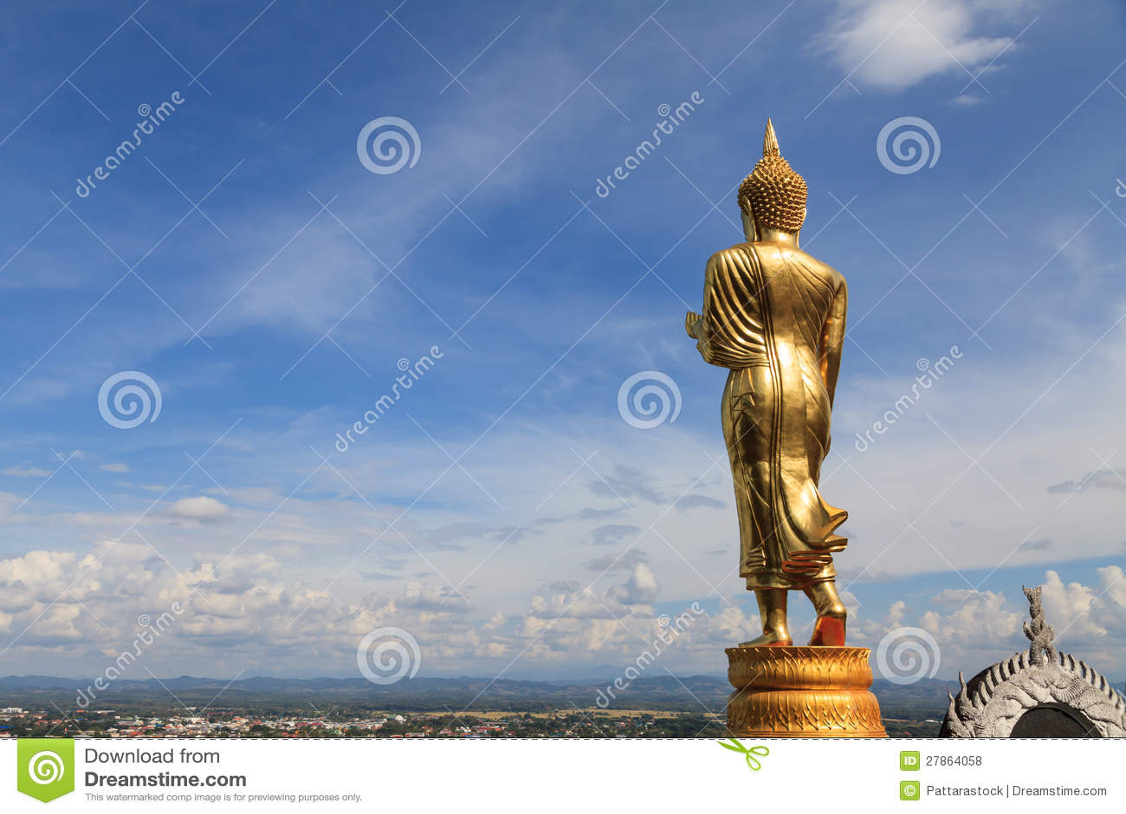 W Nan Buddha wizerunek, Tajlandia