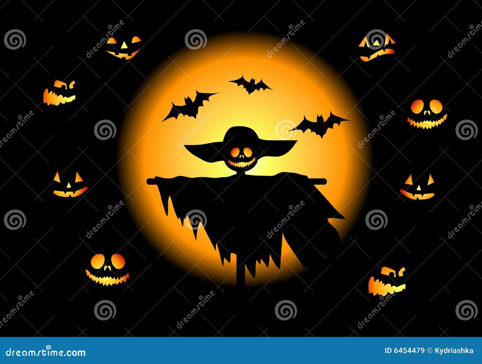 W noc Halloween.