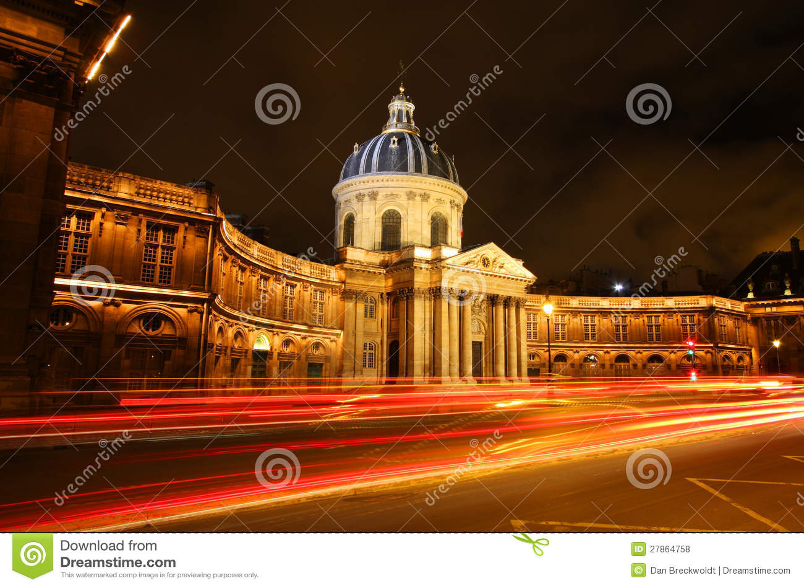 W Paryż Institut budynek De Francja