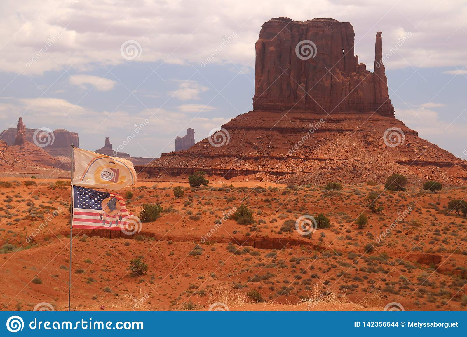 W?sten-Landschaft in Arizona, Monument-Tal Bunt, Tourismus