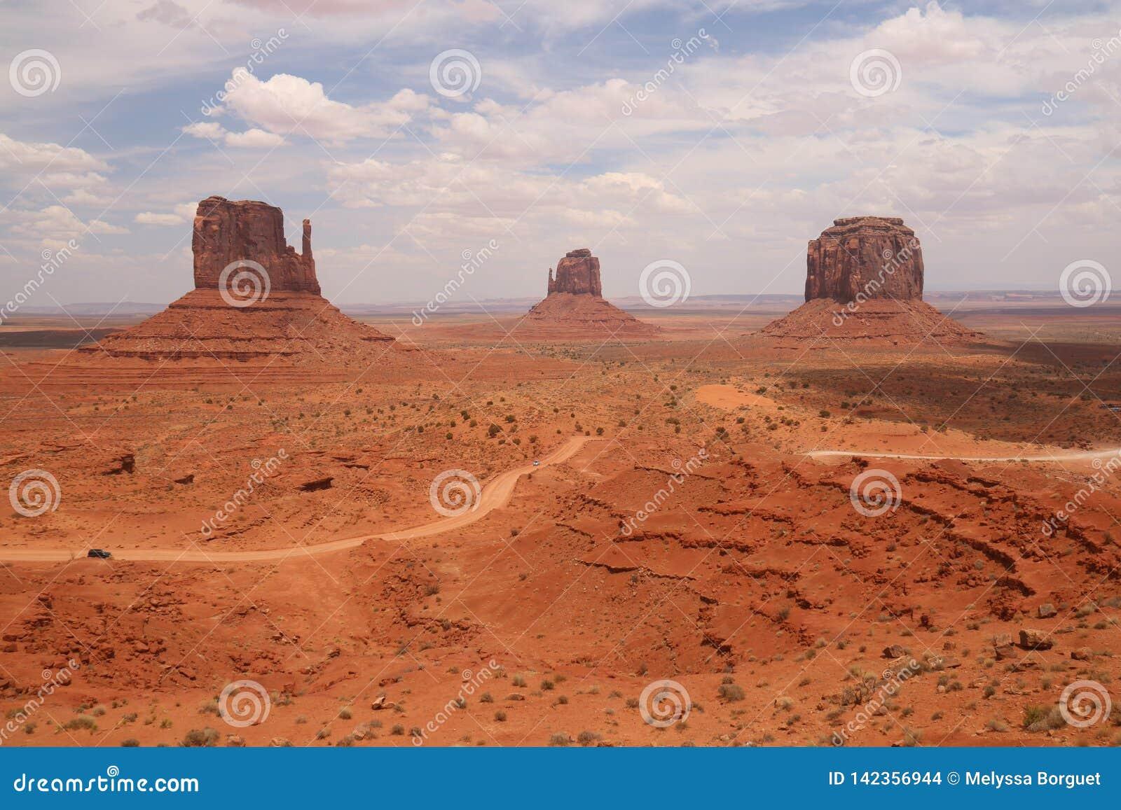 W?sten-Landschaft in Arizona, Monument-Tal Bunt, Tourismus