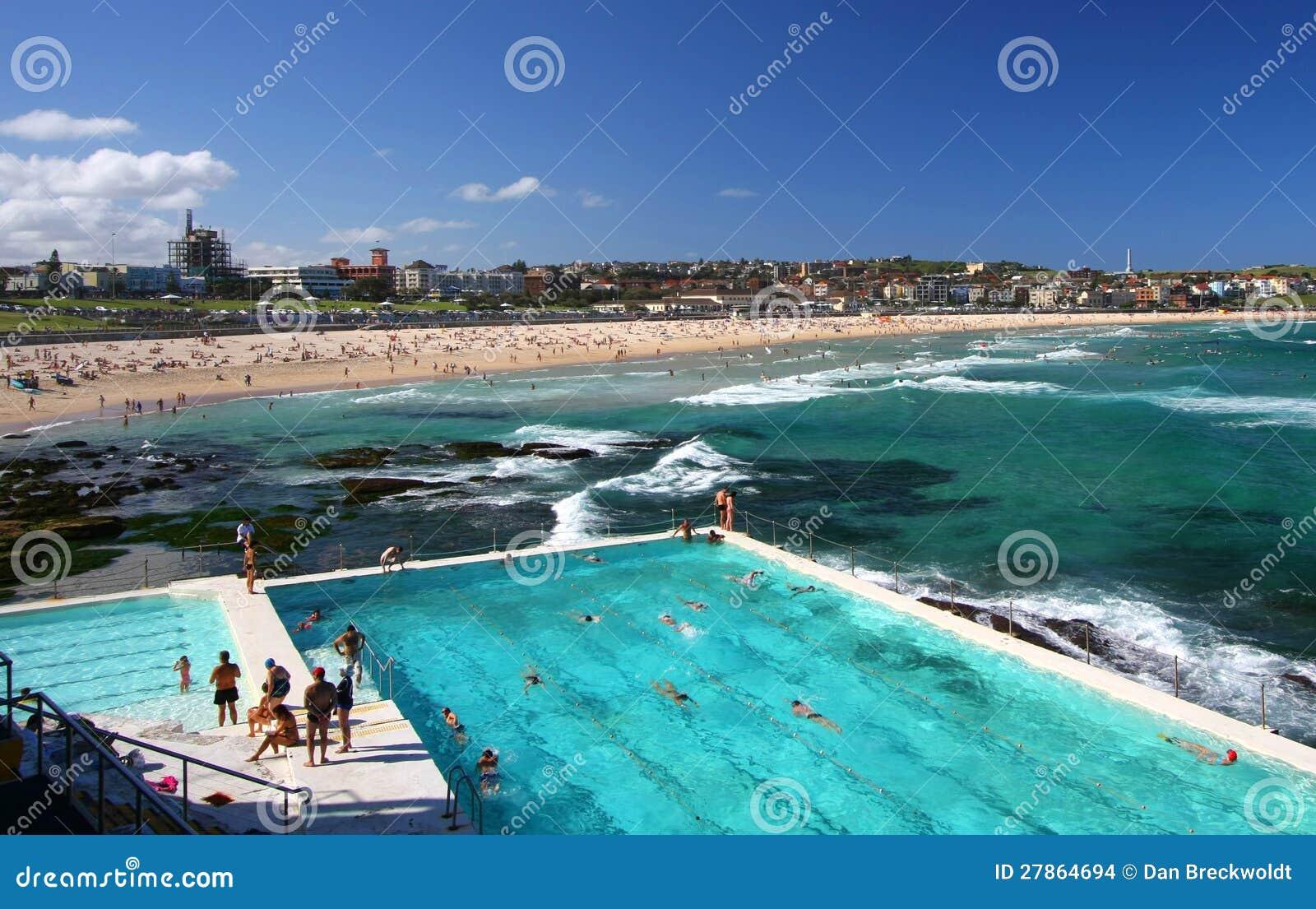 W Sydney Bondi plaża, Australia