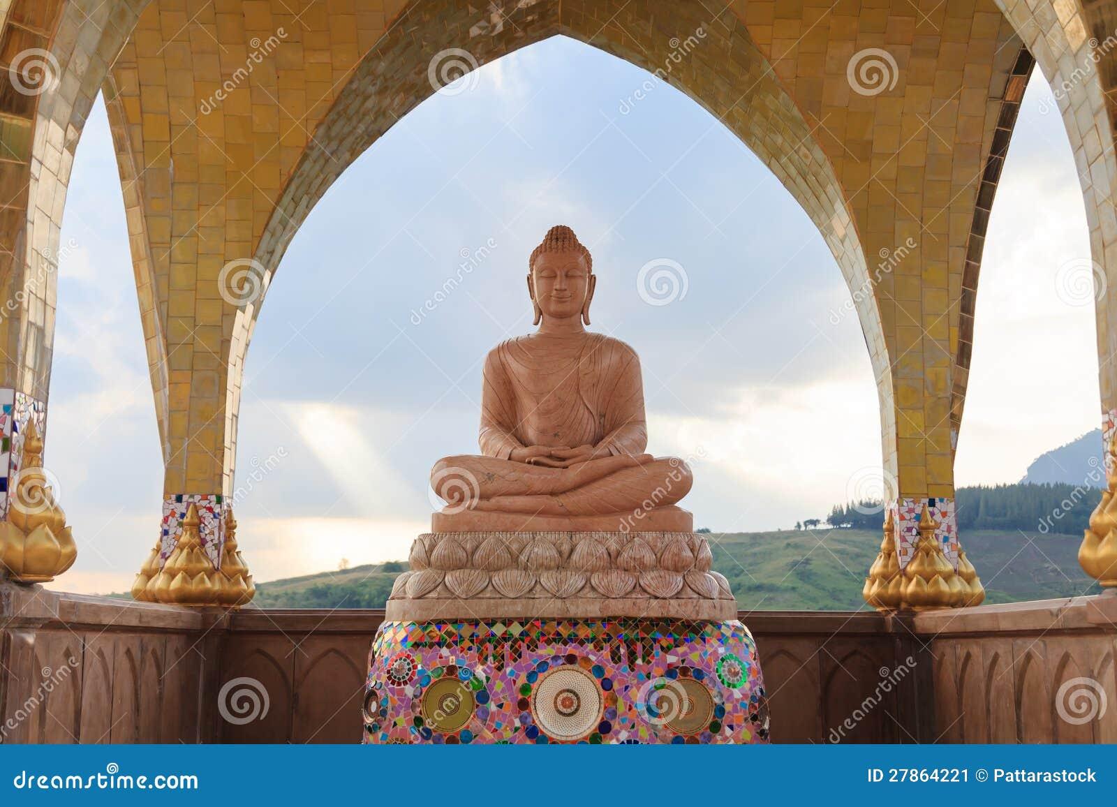 W Tajlandia Buddha wizerunek