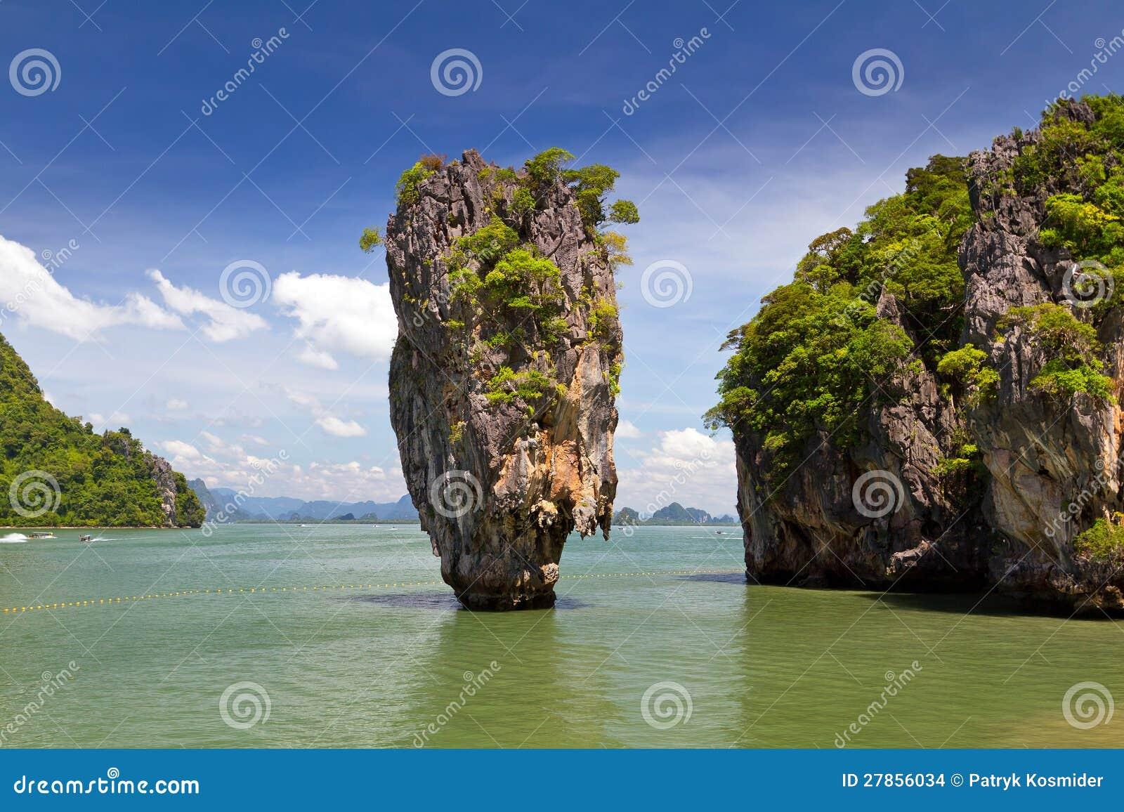 W Tajlandia Niewolna James Wyspa
