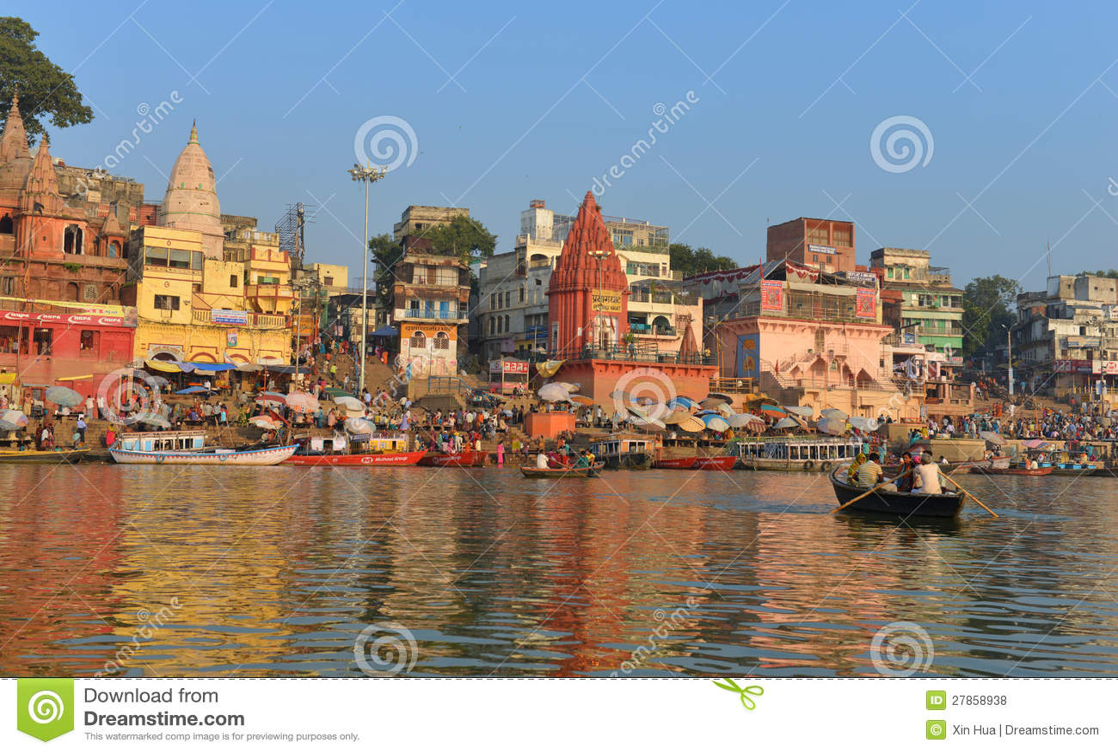 W Varanasi hinduski Ghats