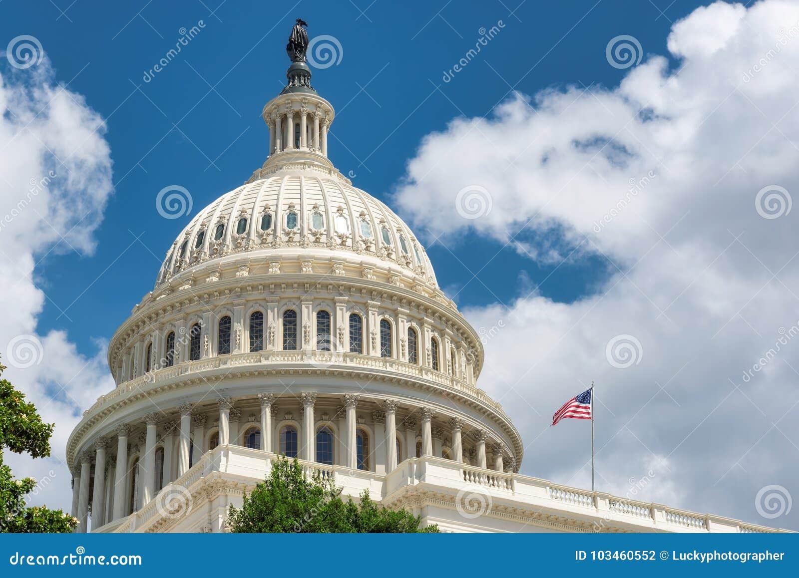 W Waszyngton Stany Zjednoczone Capitol, D