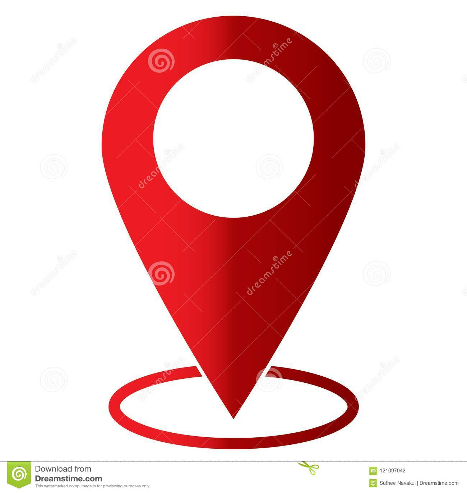 Wałkowa ikona na białym tle Mieszkanie styl mapa znak