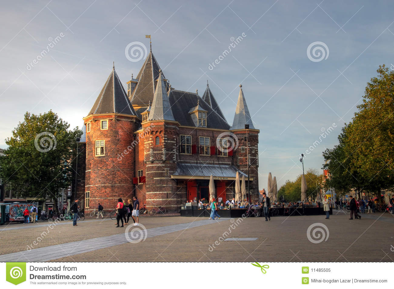 The Waag, Amsterdam, The Netherlands
