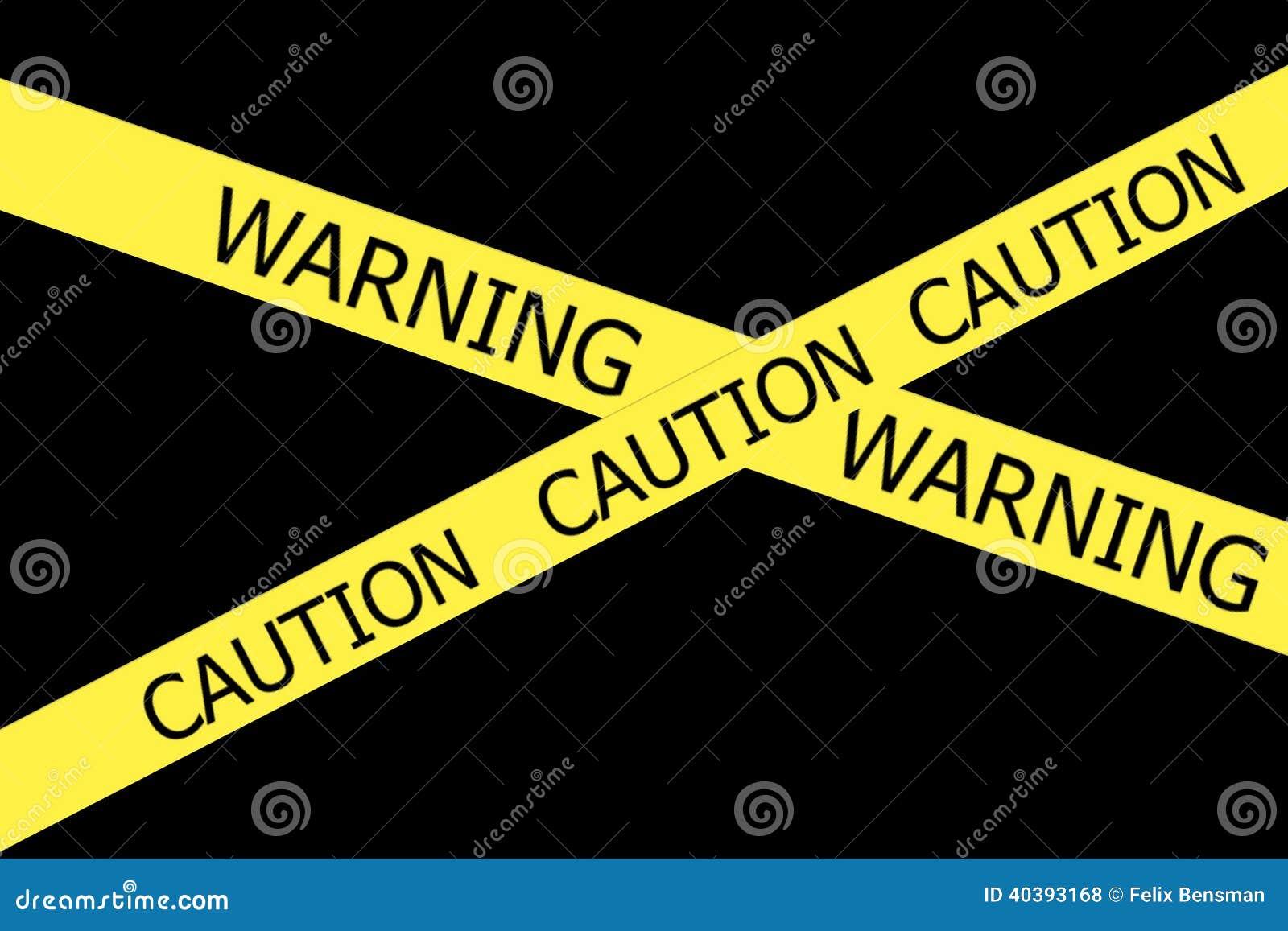 Waarschuwing en Voorzichtigheid