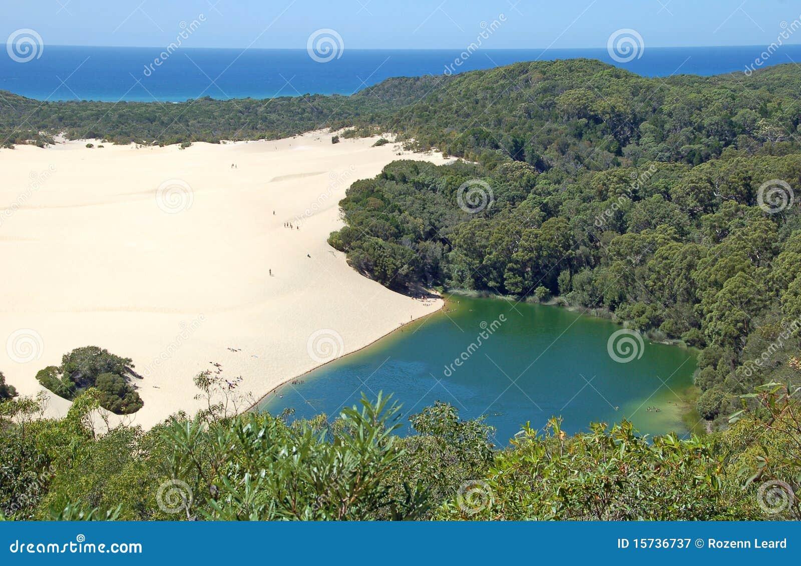 Wabby lake för Australien fraserö
