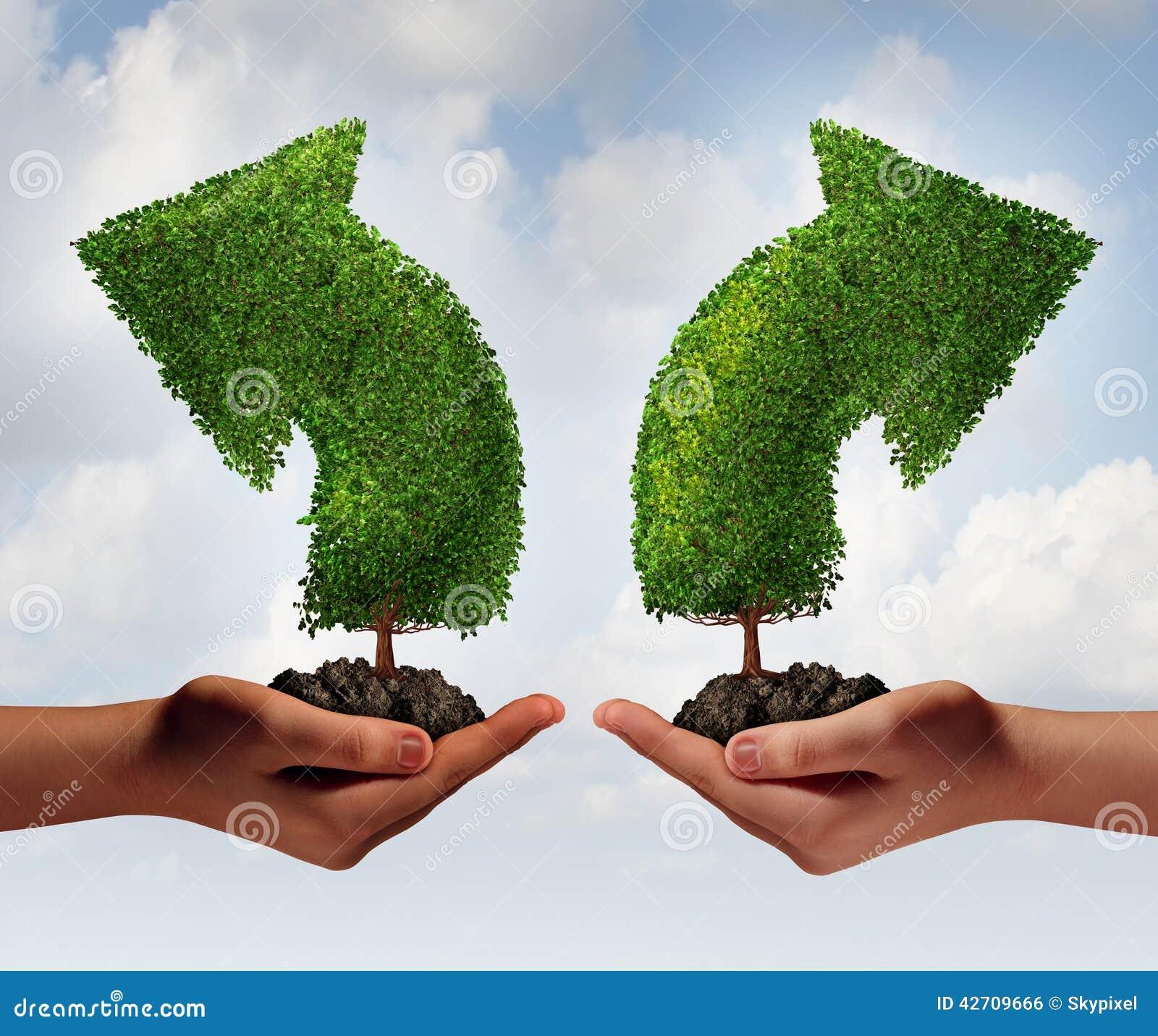 Wachstums-Wahl