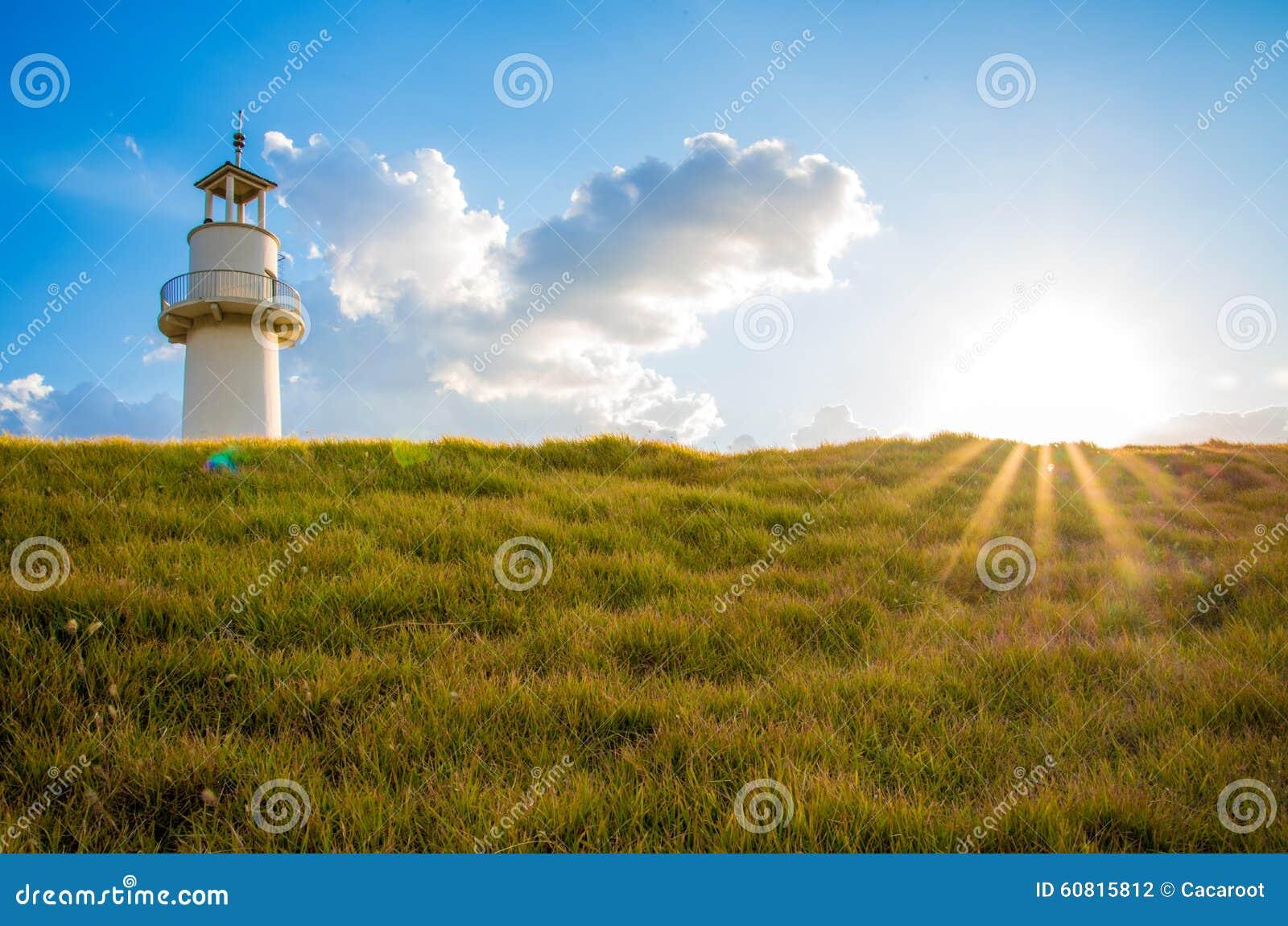 Wachturm auf dem Horizont