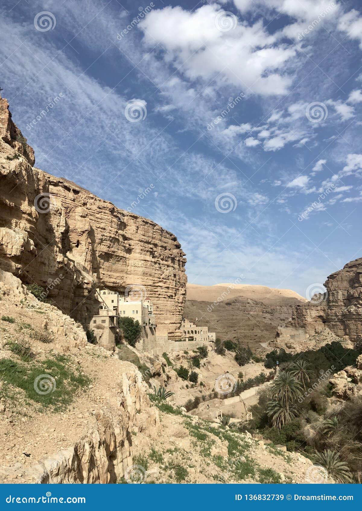 Wadi al Qelt, kenyons entre Jericho e Jerusalém