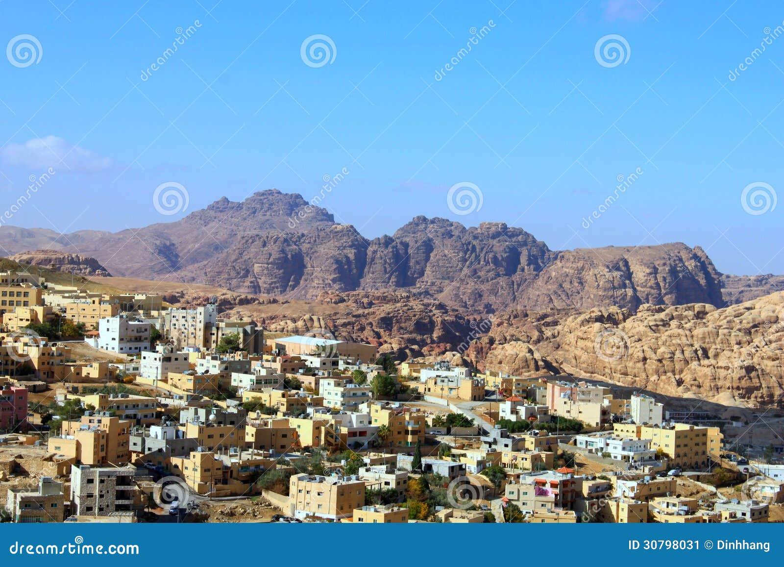 Wadi Musa, pequeña ciudad alrededor del Petra