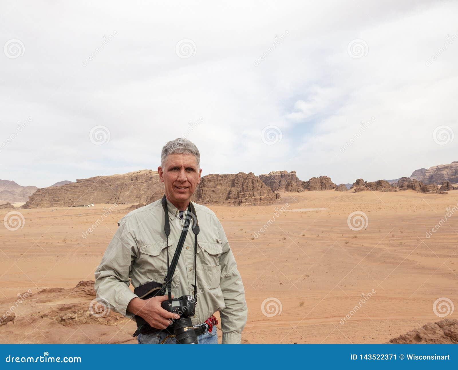 Wadi Run Desert, Jordan Travel, Toerist