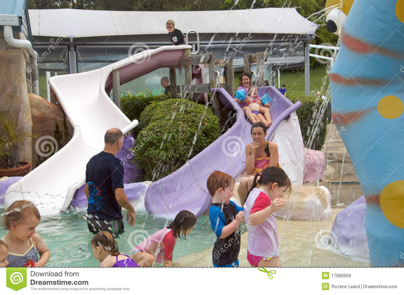 Wading Pool Editorial Stock Image Image 17680609