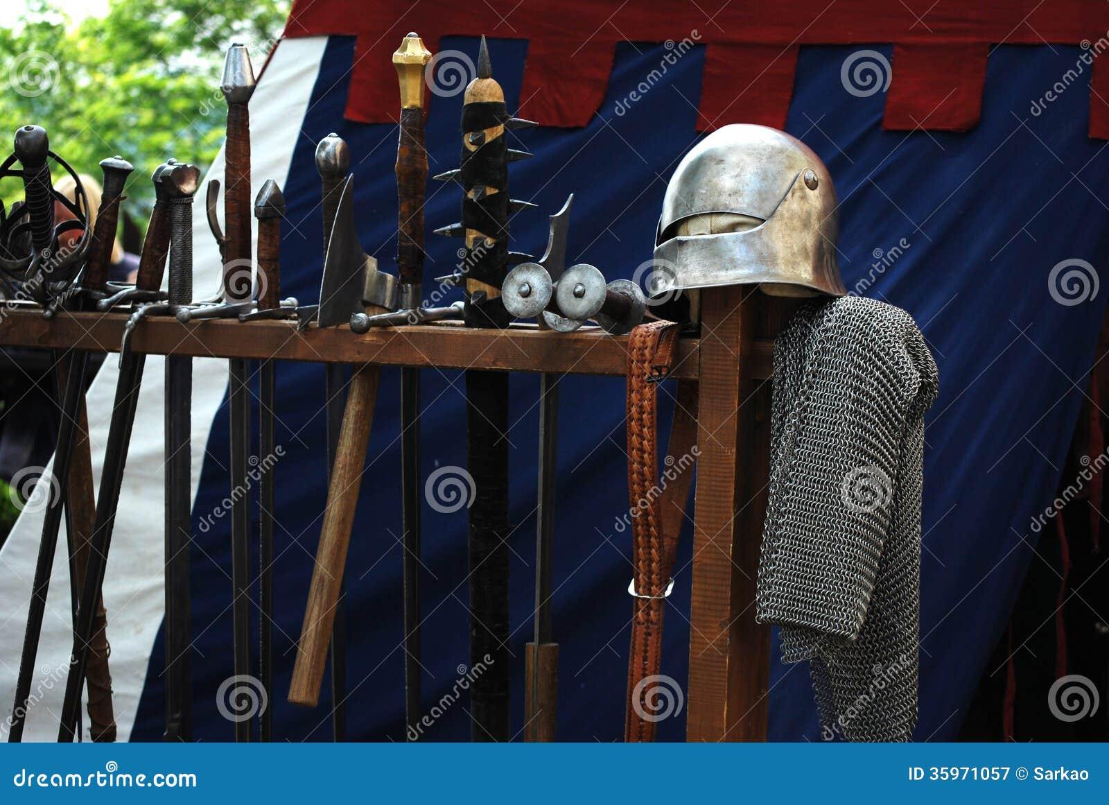 Waepons medievales