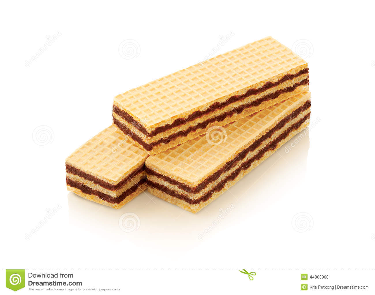 wafer biscuit stock photo   image 44808968