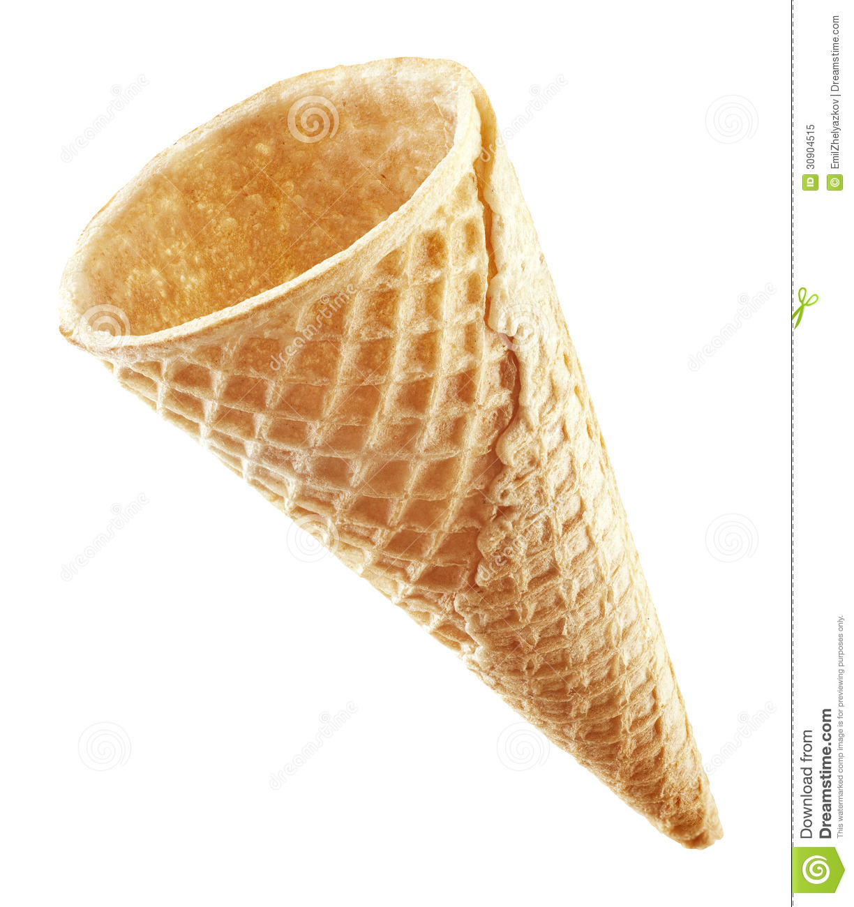 Cone In Real Life: Wafer Cone Stock Image. Image Of Crunchy, Food, Waffle