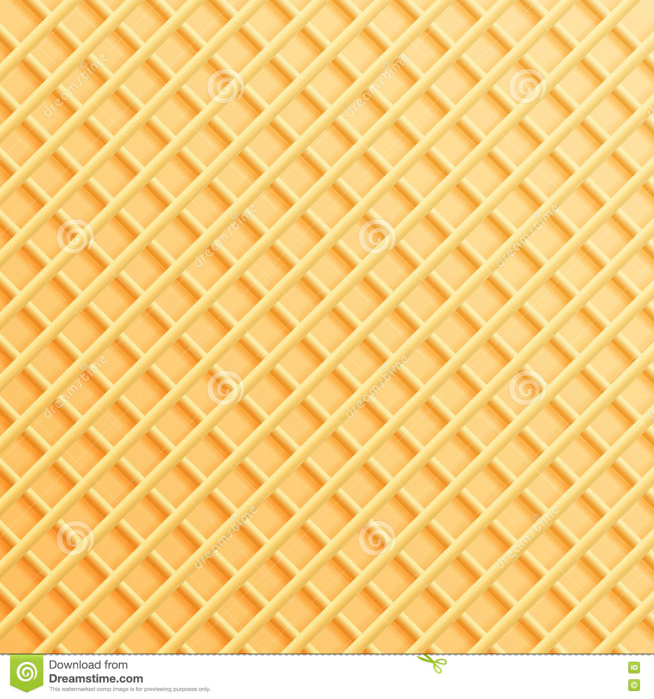 Wafer texture background. stock vector. Illustration of ...