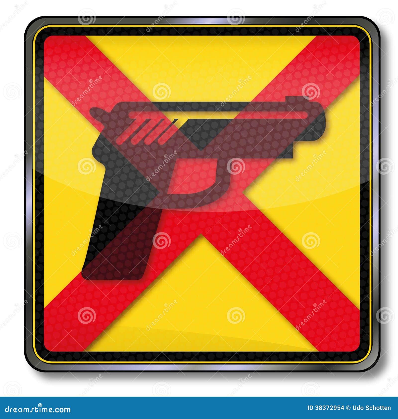 Waffen werden verboten