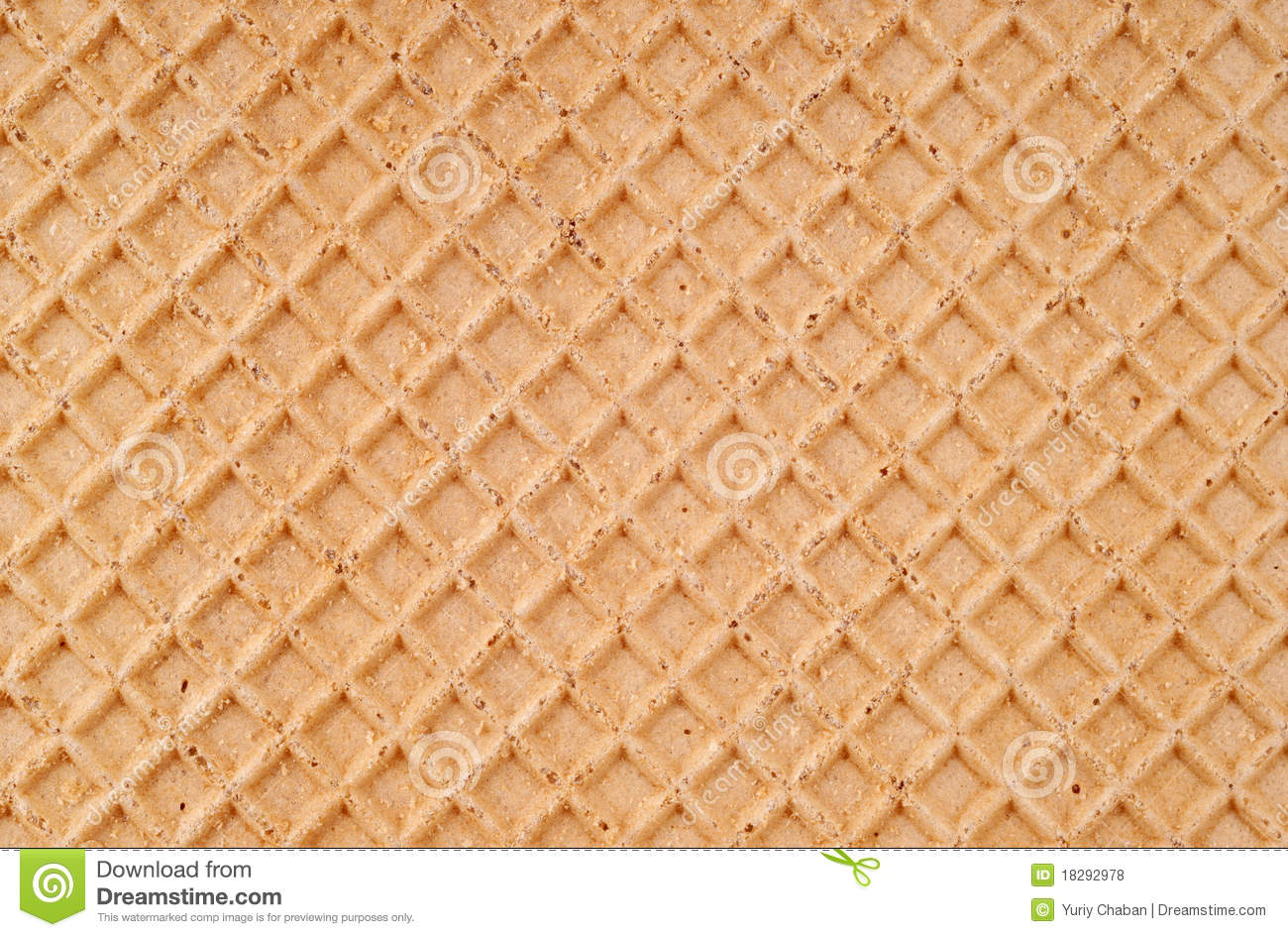 Waffle Background Royalty Free Stock Photos - Image: 18292978