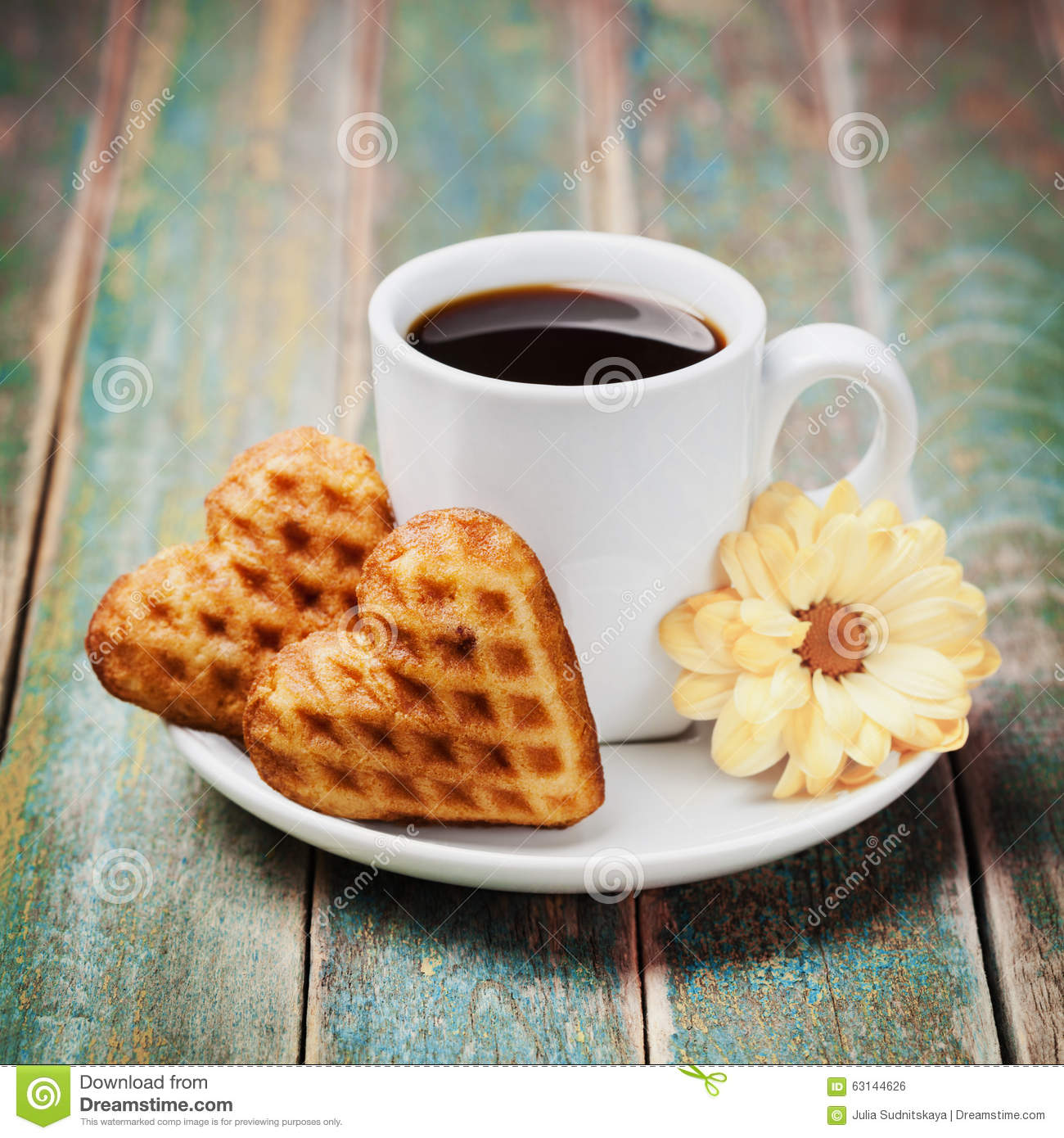 Biscuits In The Shape Stock Photography