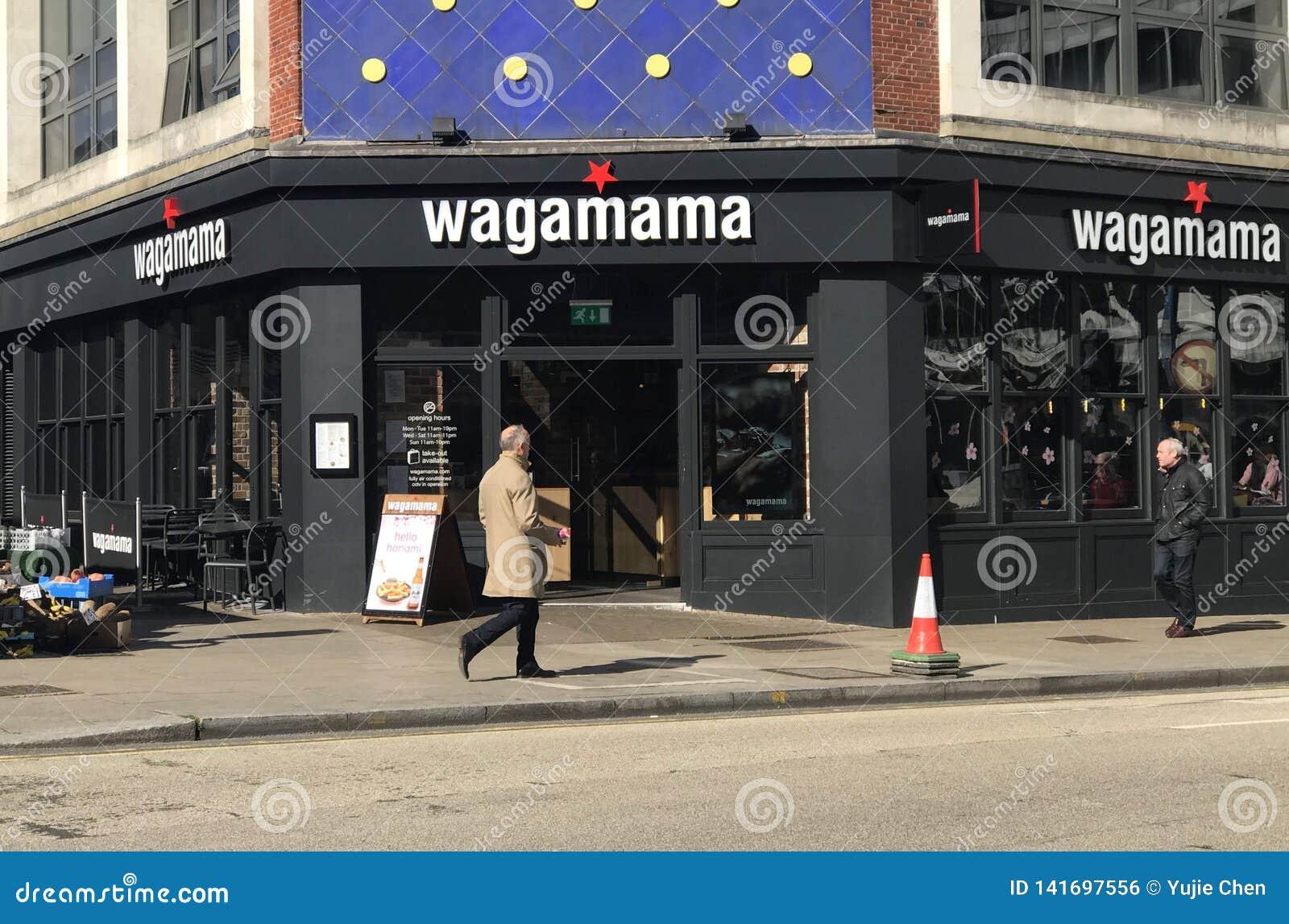 Wagamama restaurang